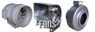 Centrifugal fans for mushroom production